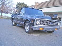 SOLD 1972 CHEVY CUSTOM DELUXE PICK UP TRUCK