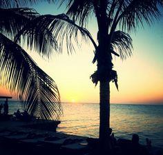 #Beautiful #Sunset #Jan #Thiel #Curaçao