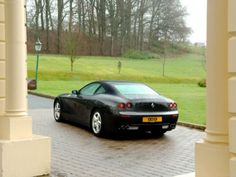 Ferrari 612 Scaglietti Wallpaper 2006 poster, #poster, #mousepad, #Ferrari #printcarposter