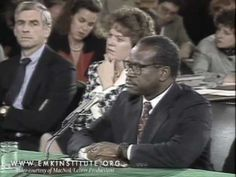 Clarence Thomas interviewed by Julian Bond: Explorations in Black Leadership Series - YouTube