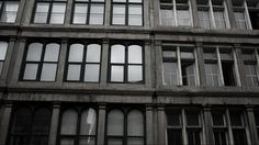 Shooting black and white windows in the Old port - Vieux port
