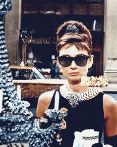 Vestido preto do vintage 2017 estilo Audrey Hepburn cintura