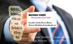 Printing Business Cards Flyers Posters Menu etc in London
