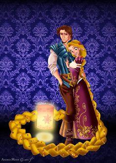 Designer Fairytale : RAPUNZEL + FLYNN by Andrea Meier Designer Fairytale…