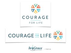 Previously InGrace Ministries, our team helped guide the naming process, designed a new logo and website for this ministry that offers Bible devotions and a message of hope Life In Grace, Message Of Hope, Ministry, Logo Design, Bible, Messages, Website, Logos, Biblia