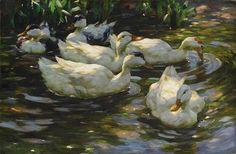 alexander koester paintings - Google zoeken