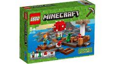 Minecraft Lego - Isla Champiñon - Lego - Sets de Construcción - Sets de Construcción JulioCepeda.com