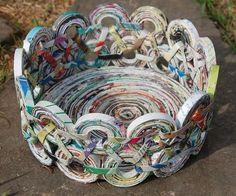 Aprenda a fazer uma cesta e use a técnica para produzir peças incríveis