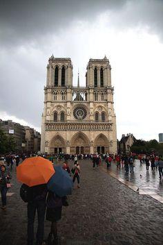 Notre Dame (in the rain)