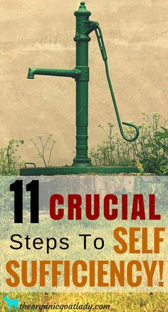 Frugal and Self Sufficient Living, Steps to Self Sufficiency, Self Sufficient Homestead, Survival, Surviving a Natural Disaster,