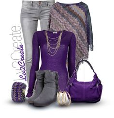 """Purple Contest"" by lv2create ❤ liked on Polyvore"