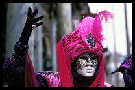 Venice Carnival mask, Italy