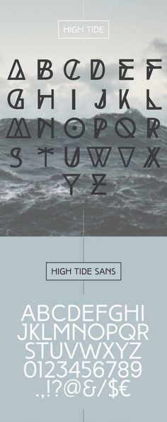 Hipster Typographie