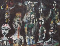 Figuras De Carnaval - René Portocarrero 1952