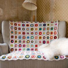 Grannysquare Blanket No05