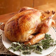 When it comes to Thanksgiving turkey, we know it's tough to mess with tradition. That's why we bring you this classic whole turkey recipe for Thanksgiving or any other special event when you need to feed a crowd./