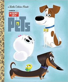 "Read ""The Secret Life of Pets Little Golden Book (Secret Life of Pets)"" by Dennis R. Shealy available from Rakuten Kobo. This Little Golden Book peeks into Illumination Entertainment and Universal Pictures' The Secret Life of Pets, a comedy . Party Animals, Animal Party, Animal Birthday, Boy Birthday, Birthday Ideas, Pet Max, Pets Movie, Popular Cartoons, Autograph Books"