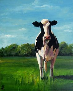 Hey, I found this really awesome Etsy listing at http://www.etsy.com/listing/152488937/cow-painting-sophia-canvas-or-paper