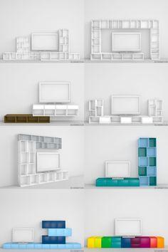 52 idées déco de meuble TV