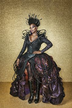 The Wiz Live-Mary J. Blige as Wicked Witch of the West