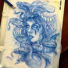 ... tattoos tattoo art tattoo photo tattoo designs medusa tattoo design