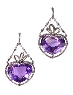Lavender Whisper,Purple Earring,Lavender Earring,Vintage Earrings,Purple Stone,Vintage Stone,Vintage Amethyst,Amethyst Earrings,Purple