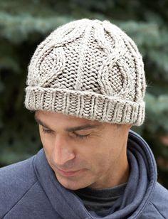 Yarnspirations.com - Bernat Cable Hat - Patterns  | Yarnspirations