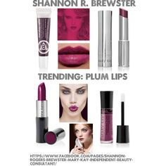 Plum/purple lips