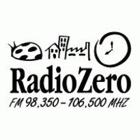 Radio Zero Logo. Get this logo in Vector format from http://logovectors.net/radio-zero/