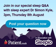 Have you been struggling with your sleep in this heat, or has it been years since your last great night? Good news! To mark the launch of The Sleep Zone, we're holding a Q session with a sleep expert here: http://patient.info/sleepio-askanexpert