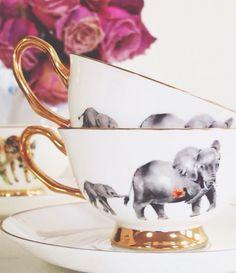 Elephant tea cups <3