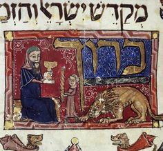 Jews of Medieval Eastern Europe migrated from Caucasus region, study shows - ancient Jewish illustration