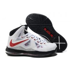 62a9654f603 Nike Lebron 10 White Red Black G07030 Adidas Shoes
