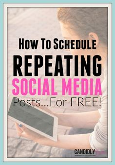 "Say goodbye to regular social media schedulers that you have to ""fill up"" again and again, and no more monthly bills for publishing your content to Facebook or Twitter! Use this wicked hack to save you time and money, by scheduling repeating social media posts...for FREE!"