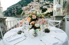 Flowers Table Decoration Rada Positano- Frances Heath Photography