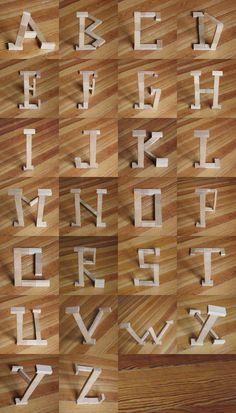 Klotz Type experiment / Marc Böttler