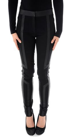 These leather panel leggings from 4U by Forever Unique are sure to make your wardrobe space worthy!