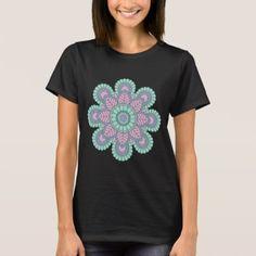 Mandala Basic T- Shirt - trendy gifts cool gift ideas customize