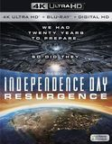 Independence Day: Resurgence [4K Ultra HD Blu-ray/Blu-ray] [2016]