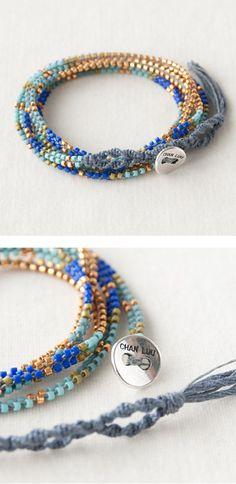 CHAN LUU bracelet http://item.rakuten.co.jp/lilietnene/cl3a-bs3598-bl/