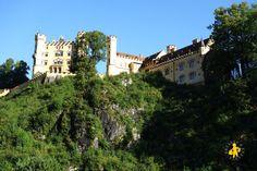 Bavière en famille - Voyage Camping-car en Allemagne avec enfant Chateau Fussen