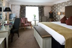 Deluxe Room at Brooks Hotel, Drury Street, Dublin 2, Ireland