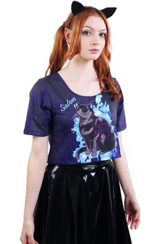 Salem Tee Crop - LIMITED - Made To Order