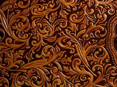 hand tooled leather #tooled #leather