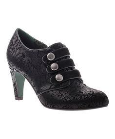 Look what I found on #zulily! Black Time Marches On Bootie by Poetic Licence #zulilyfinds $69.99was $149.00!