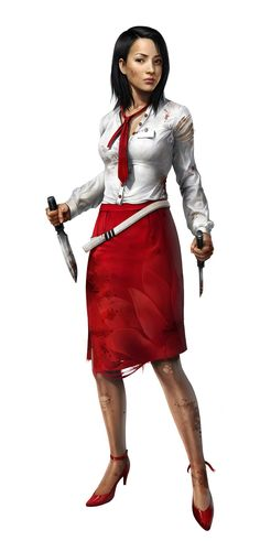 Marketing concept art of Purna. Dead Island : Riptide © 2013 Deep Silver Inc. Developed by Techland.