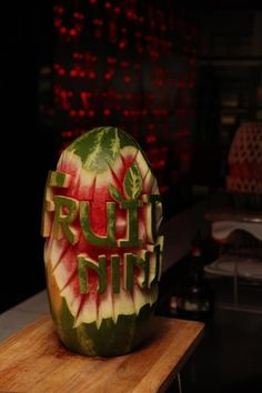 Yes I know summer is over long time ago, but Melons are so much fun, you wish they were available all year long! Fruit Slice, Rum, Watermelon, Good Food, Ninja, Ideas, Ninjas, Rome, Thoughts
