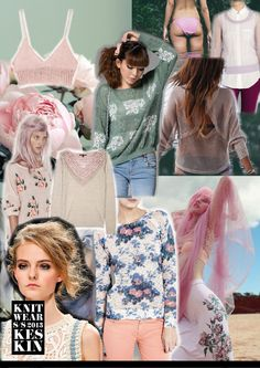 Knitwear Trends SS 2013 by Tina Munther, via Behance
