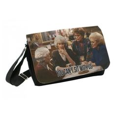 Funny Golden Girls Messenger - You can't sit with us Bag Bookbag, Field Bag…