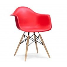 Charles & Ray Eames Inspired DAW Chair - Red